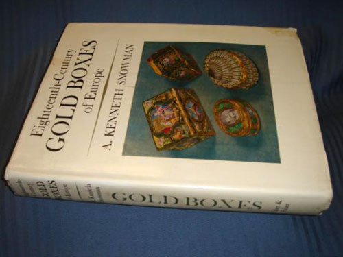 18th Cent Gold Boxes , Snowman, London