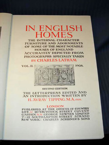 In English Homes C Latham Vol.2 1908