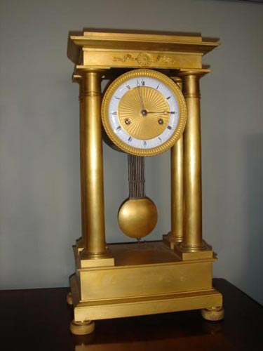 Extremely rare French Empire 30day clock