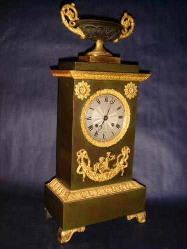 French Louis Philippe ormolu clock 1834