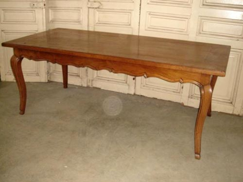 cherrywood Solid French dining table
