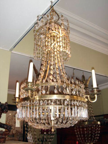 Swedish Gustavian 18th Cent. Chandelier