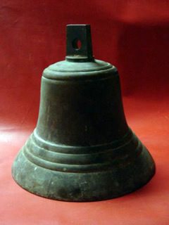 Bronze church or ships bell