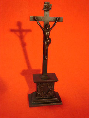 Cast iron Crucifix Inri 1830