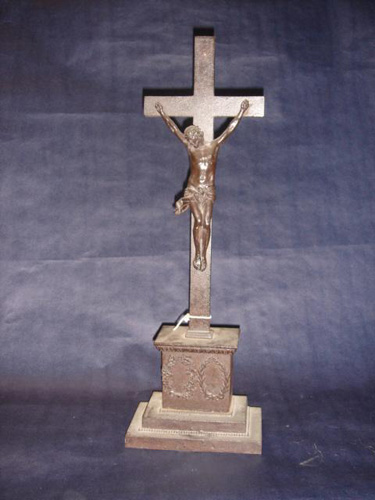 Large rare Berlin Iron crucifix 1815